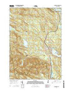 Sanbornville New Hampshire Current topographic map, 1:24000 scale, 7.5 X 7.5 Minute, Year 2015 from New Hampshire Map Store