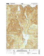 Second Connecticut Lake New Hampshire Current topographic map, 1:24000 scale, 7.5 X 7.5 Minute, Year 2015 from New Hampshire Map Store
