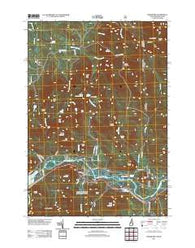 Shelburne New Hampshire Historical topographic map, 1:24000 scale, 7.5 X 7.5 Minute, Year 2012