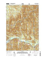 Shelburne New Hampshire Current topographic map, 1:24000 scale, 7.5 X 7.5 Minute, Year 2015 from New Hampshire Map Store