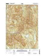 Smarts Mountain New Hampshire Current topographic map, 1:24000 scale, 7.5 X 7.5 Minute, Year 2015 from New Hampshire Map Store