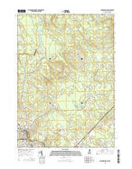 Somersworth New Hampshire Current topographic map, 1:24000 scale, 7.5 X 7.5 Minute, Year 2015 from New Hampshire Map Store
