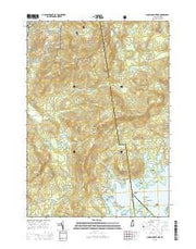 Squam Mountains New Hampshire Current topographic map, 1:24000 scale, 7.5 X 7.5 Minute, Year 2015 from New Hampshire Maps Store
