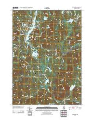 Stoddard New Hampshire Historical topographic map, 1:24000 scale, 7.5 X 7.5 Minute, Year 2012