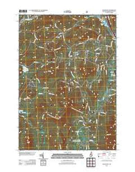 Sugar Hill New Hampshire Historical topographic map, 1:24000 scale, 7.5 X 7.5 Minute, Year 2012