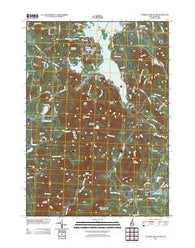 Sunapee Lake South New Hampshire Historical topographic map, 1:24000 scale, 7.5 X 7.5 Minute, Year 2012