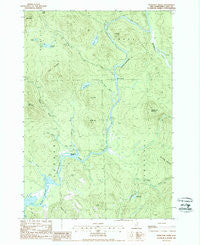 Teakettle Ridge New Hampshire Historical topographic map, 1:24000 scale, 7.5 X 7.5 Minute, Year 1988