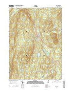 Troy New Hampshire Current topographic map, 1:24000 scale, 7.5 X 7.5 Minute, Year 2015 from New Hampshire Map Store