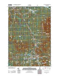 Twin Mountain New Hampshire Historical topographic map, 1:24000 scale, 7.5 X 7.5 Minute, Year 2012