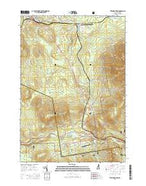 Twin Mountain New Hampshire Current topographic map, 1:24000 scale, 7.5 X 7.5 Minute, Year 2015 from New Hampshire Map Store