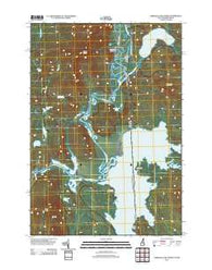 Umbagog Lake North New Hampshire Historical topographic map, 1:24000 scale, 7.5 X 7.5 Minute, Year 2012