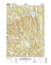 Weare New Hampshire Current topographic map, 1:24000 scale, 7.5 X 7.5 Minute, Year 2015 from New Hampshire Maps Store