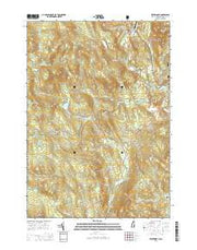 Wentworth New Hampshire Current topographic map, 1:24000 scale, 7.5 X 7.5 Minute, Year 2015 from New Hampshire Maps Store