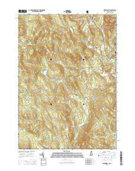 Wentworth New Hampshire Current topographic map, 1:24000 scale, 7.5 X 7.5 Minute, Year 2015