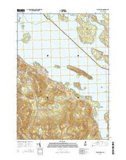 West Alton New Hampshire Current topographic map, 1:24000 scale, 7.5 X 7.5 Minute, Year 2015 from New Hampshire Maps Store