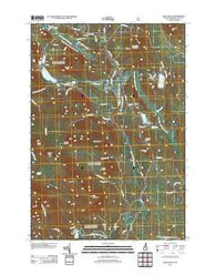 West Milan New Hampshire Historical topographic map, 1:24000 scale, 7.5 X 7.5 Minute, Year 2012