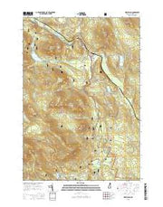 West Milan New Hampshire Current topographic map, 1:24000 scale, 7.5 X 7.5 Minute, Year 2015 from New Hampshire Maps Store