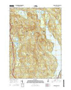 Winnisquam Lake New Hampshire Current topographic map, 1:24000 scale, 7.5 X 7.5 Minute, Year 2015 from New Hampshire Map Store