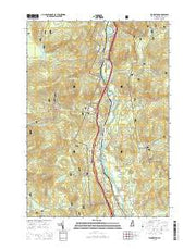 Woodstock New Hampshire Current topographic map, 1:24000 scale, 7.5 X 7.5 Minute, Year 2015 from New Hampshire Maps Store