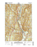 Woodsville New Hampshire Current topographic map, 1:24000 scale, 7.5 X 7.5 Minute, Year 2015 from New Hampshire Map Store