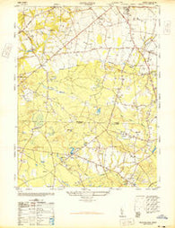 Adelphia New Jersey Historical topographic map, 1:24000 scale, 7.5 X 7.5 Minute, Year 1947