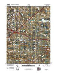 Allentown New Jersey Historical topographic map, 1:24000 scale, 7.5 X 7.5 Minute, Year 2011