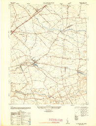 Allentown New Jersey Historical topographic map, 1:24000 scale, 7.5 X 7.5 Minute, Year 1948