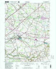 Allentown New Jersey Historical topographic map, 1:24000 scale, 7.5 X 7.5 Minute, Year 1995