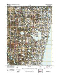 Asbury Park New Jersey Historical topographic map, 1:24000 scale, 7.5 X 7.5 Minute, Year 2011