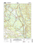 Atsion New Jersey Current topographic map, 1:24000 scale, 7.5 X 7.5 Minute, Year 2016 from New Jersey Map Store