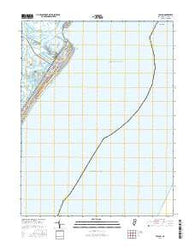 Avalon New Jersey Current topographic map, 1:24000 scale, 7.5 X 7.5 Minute, Year 2016