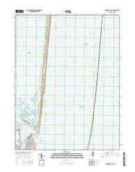 Barnegat Light New Jersey Current topographic map, 1:24000 scale, 7.5 X 7.5 Minute, Year 2016