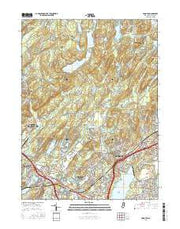 Boonton New Jersey Current topographic map, 1:24000 scale, 7.5 X 7.5 Minute, Year 2016 from New Jersey Maps Store