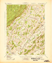 Branchville New Jersey Historical topographic map, 1:31680 scale, 7.5 X 7.5 Minute, Year 1943