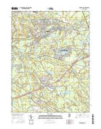 Browns Mills New Jersey Current topographic map, 1:24000 scale, 7.5 X 7.5 Minute, Year 2016 from New Jersey Map Store