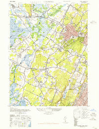Caldwell New Jersey Historical topographic map, 1:24000 scale, 7.5 X 7.5 Minute, Year 1947