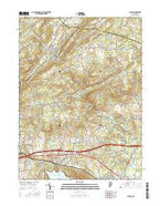 Califon New Jersey Current topographic map, 1:24000 scale, 7.5 X 7.5 Minute, Year 2016 from New Jersey Map Store