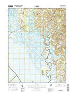 Canton New Jersey Current topographic map, 1:24000 scale, 7.5 X 7.5 Minute, Year 2016 from New Jersey Map Store