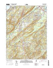 Chester New Jersey Current topographic map, 1:24000 scale, 7.5 X 7.5 Minute, Year 2016 from New Jersey Maps Store