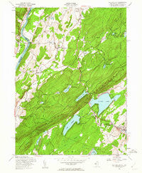 Culvers Gap New Jersey Historical topographic map, 1:24000 scale, 7.5 X 7.5 Minute, Year 1954