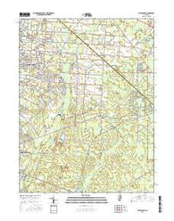 Five Points New Jersey Current topographic map, 1:24000 scale, 7.5 X 7.5 Minute, Year 2016