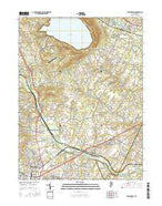 Flemington New Jersey Current topographic map, 1:24000 scale, 7.5 X 7.5 Minute, Year 2016 from New Jersey Map Store