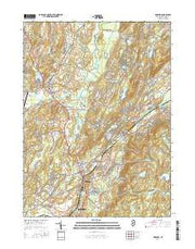Hamburg New Jersey Current topographic map, 1:24000 scale, 7.5 X 7.5 Minute, Year 2016 from New Jersey Maps Store