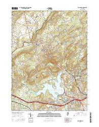 High Bridge New Jersey Current topographic map, 1:24000 scale, 7.5 X 7.5 Minute, Year 2016