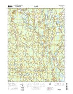 Jenkins New Jersey Current topographic map, 1:24000 scale, 7.5 X 7.5 Minute, Year 2016 from New Jersey Map Store