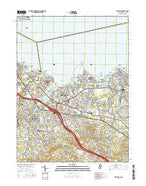 Keyport New Jersey Current topographic map, 1:24000 scale, 7.5 X 7.5 Minute, Year 2016 from New Jersey Map Store