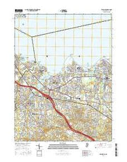 Keyport New Jersey Current topographic map, 1:24000 scale, 7.5 X 7.5 Minute, Year 2016 from New Jersey Maps Store