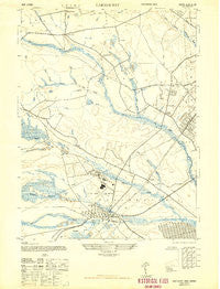 Lakehurst New Jersey Historical topographic map, 1:24000 scale, 7.5 X 7.5 Minute, Year 1947