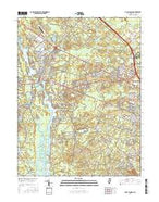Mays Landing New Jersey Current topographic map, 1:24000 scale, 7.5 X 7.5 Minute, Year 2016 from New Jersey Map Store