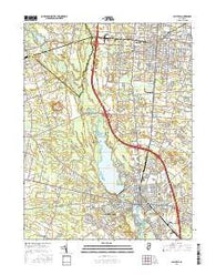 Millville New Jersey Current topographic map, 1:24000 scale, 7.5 X 7.5 Minute, Year 2016